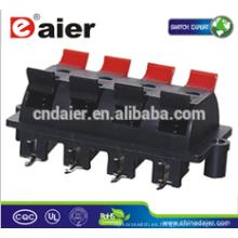 Daier WP8-3 8P rojo y negro y blanco Clip WP Push Terminal terminal de conexión de cables