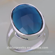 Schmuck zhefan Mini-Bestellung Alibaba Best Selling 925 Sterling Silber ein Stein Rabatt Ring