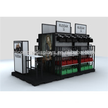 De Metal Y Madera Bolsa De Escuela De Heavy Punzonado Detachable Golf Adjustable Golf Colgante Display Stand