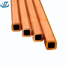 tubo retangular de cobre de alta qualidade / tubo de cobre
