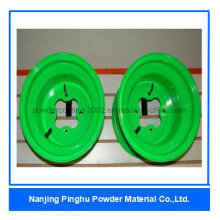 Neon Green Thermoset Powder Coating and Paint