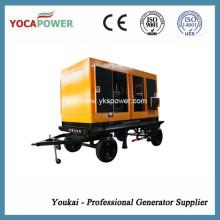 375kVA elektrischer schalldichter Dieselgenerator mit Shangchai Motor