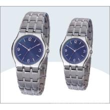 Acier inoxydable Couple montres et montre à Quartz 15192