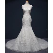 Vestido nupcial de la boda de la sirena por encargo