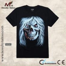 Y-100207 Modelo Alarming fresco - t-shirt luminoso do tatu Camiseta