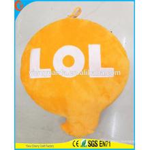 Hot Selling alta calidad novedad diseño carta expresion emoji almohada