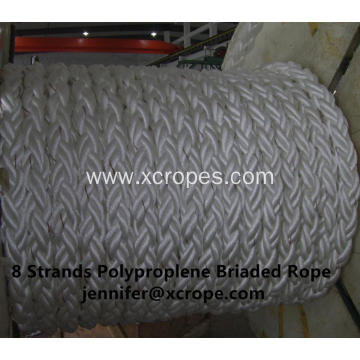 8 Strands Polyproplene Briaded Rope