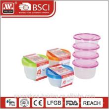 Récipient de nourriture en plastique 1L (4p.)