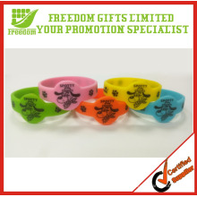 Promotional Customized Children Silicone Wristbands Set