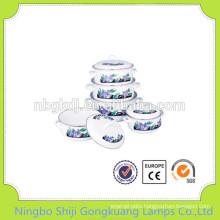 5 Pcs enamelware moka soup pot