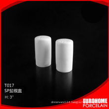 special design royal elegant ceramic porcelain salt and pepper shaker