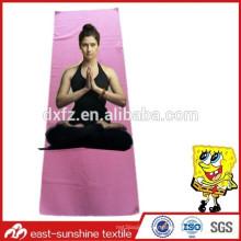Serviette de yoga en microfibre doux, belle serviette de yoga, serviette de gym avec logo
