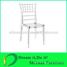 PC popular transparent wedding chair