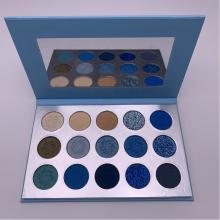Newest pigment eyeshadow custom glitter eyeshadow palette