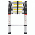 3.2m All Aluminum Lightweight Folding Telescopic Bamboo Ladder, Small Space EN131 bamboo ladder in China