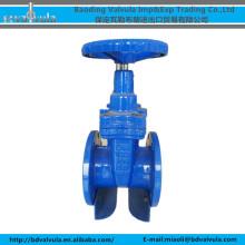 DN100 Válvula de porta flangeada de ferro dúctil