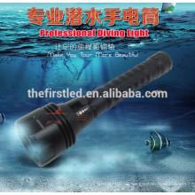 H3 Die militärische Ebene Cree XM-L2 800lm Tauchen LED-Taschenlampe