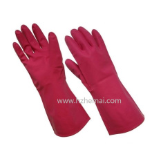 Luvas de uso doméstico sem látex Nitrile Luva de trabalho de segurança química