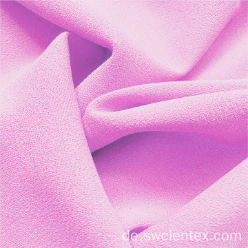 Baby Pink Polyester DTY Kleidung Stretch Stoffe