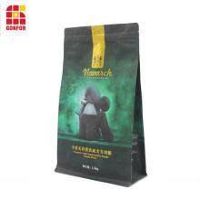 Aluminum Flat bottom pouch bag for dog food