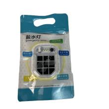 Linterna de emergencia ambiental con combustible de aluminio.