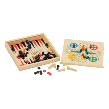 Wooden Educational Toy and Game Backgamon (CB2246)