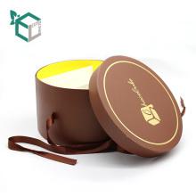 новое поступление три слоя шоколада коробки конфеты упаковывая с бумагой внутренний лоток ленты
