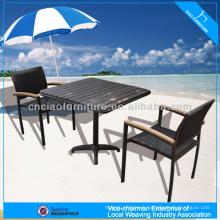 A - café set ps-bois thé set de table 646 + 8604