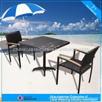 A - Coffee-Shop-Set ps-Holz Tee Tisch Set Sitzer 646 + 8604