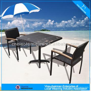 A - coffee shop set ps-wood tea table set seater 646+8604