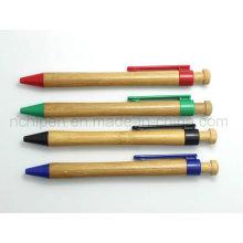 Простая наружная бамбуковая ручка для офисных и школьных принадлежностей