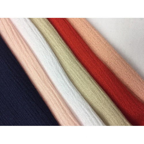 30er Jahre Rayon Crepe Solid Fabric