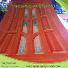 1.5-5.0mm Polyester Paper Door Skin Plywood with Poplar Core