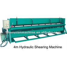 Máquina cortadora de chapa de aço