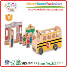 2015 Popular and Top Quality DIY Model Wooden Mini Car Toy for Kids