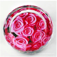New Fashion Crystal Flower Ashtray for Home Decoration (JD-CA-612)