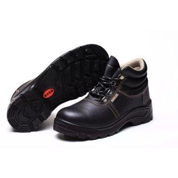 Промышленная рабочая сильная и профессиональная обувь из PU / кожаной подошвы