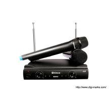 Высококачественный двухканальный беспроводной микрофон UHF S2000