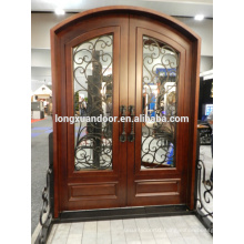 Top quality wrought iron gate, exterior wrought iron wood door, wrought iron entry door entry door                                                                         Quality Choice