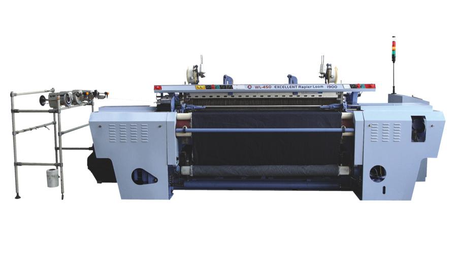 High-speed full electronic rapier loom