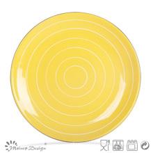 "Different Color 10.5"" Ceramic Stoneware Dinner Plate"
