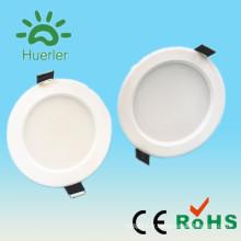 Lumière intégrée de haute qualité 3w 5w 7w 9w 100-240v smd5730 9w conduit le boîtier de lumière