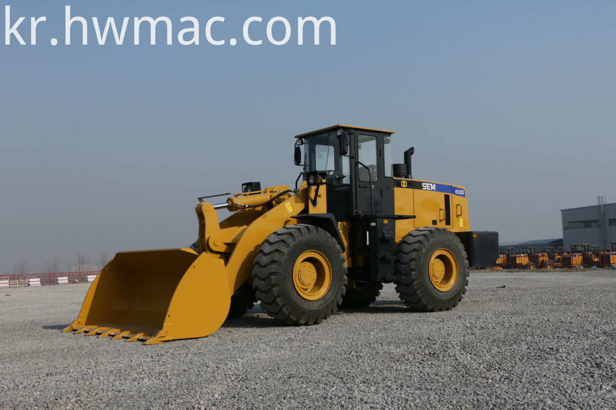 Earth Moving Machinery Wheel Loader