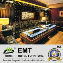 Sofá de estilo moderno sofá de noche KTV sofá (EMT-KTV06)