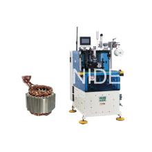 Machine à lame de bobine de stator servo contrôlée à double paroi automatique