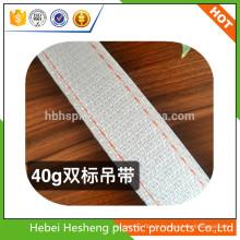 Vente chaude sangle PP sangle et sling plat fabriqué en Chine