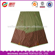 100% Polyester african print fabric wax