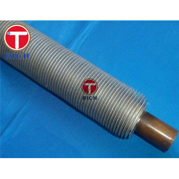 Annealed Seamless Heat Exchanger Finned Aluminium Tubing