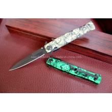 Couteau de camping en aluminium (SE-0533)
