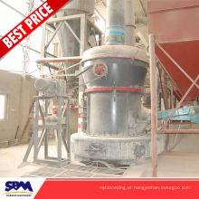 Indonésia usou triturador de escória para siderurgia para feldspato de potássio